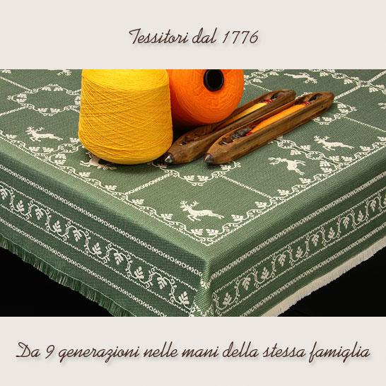 Tessitura artistica franz tessuti di lino tirolesi for Divani trentino alto adige